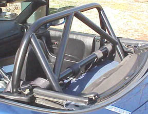 Bolt-In Harness bar with Hard Core Hardtop
