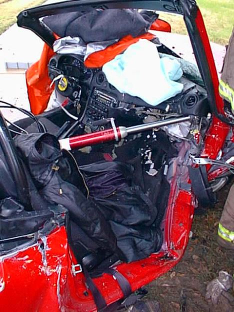 M2 Sport with Double Diagonal Crash Photo